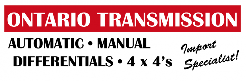 Ontario Transmission | Ottawa Transmission and Auto Repair Service